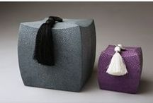 Exquisite Materials / From shagreen and nacre to horsehair - the most exquisite materials for your home.