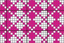 Neuleohjeita ja kuvioita / Knitting Patterns