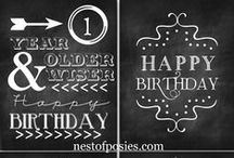 Prints - Geburtstag