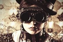 Steampunk / Dark and mysterious art of steampunk