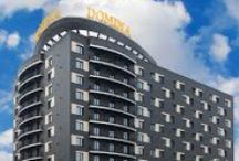 Domina Hotel Novosibirsk / About us   The Italian hotel brand Domina was founded at the end of the 1980's by the renowned Italian developer Ernesto Preatoni. Today, Domina Hotels is a dynamically changing company, counting over 20 hotels worldwide, and over 3000 rooms.