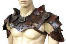 leather costumes & armour / Amazing art made of leather