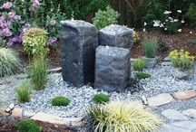 Liquid Art Fountains / The Bubbler Rocks allow for the touch of water in any landscape with the natural feel.
