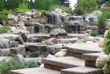 Backyard Water / Beautiful backyards made with water features