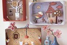 Bricolages pour les enfants / bricoler pour décorer ou offrir