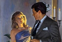Hooked On Harlequin / I admit it...something about those vintage covers and happily-ever-after romantic endings...I'm a fan!