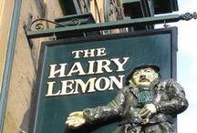 Pub signs and strange names