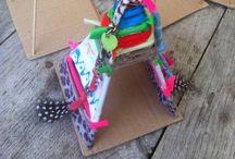 Knutselen kids - Kids crafts / Knutselen met kinderen.  Fun craft projects for kids  www.firmamama.nl