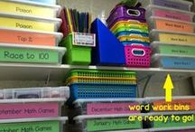 Organization / Tips to help me get organized and say organized for the school year!