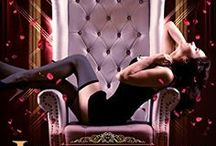 Hardwood's Harlots Erotic Romance Series / Award winning short story, turned full length erotic romance. Jizziebelle is Kat Crimson's first book and the first in the Hardwood's Harlots Burlesque Romance series. Dot Matrix: Mistress of the Stage, Book 2 in the series, will be out this spring.
