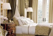 Bedroom - French gold/beige/white