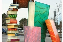 Public Libraries, Bookstores & Markets / Uncommon or public statues, libraries, outdoor book markets, mobile bookstores, public book art, and more.  / by Texas Book Festival