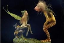 Art Puppets & foto's / Wonderfull / by Erika Vleminckx