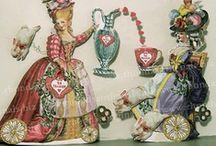 paper dolls/art/assemblage / by katherine gaudet