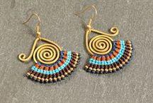 earrings - ANSAMARO.com / Hier findet ihr eine Auswahl an handfgefertigten Ohrringe. www.ansamaro.com