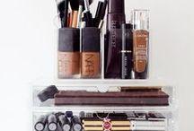 Makeup organization / Lovely organized makeup