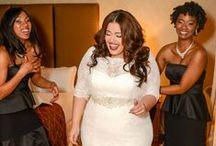WEDDING - PLUS SIZE DRESS / PLUS SIZE WEDDING DRESSES FOR BIG BEAUTIFUL BRIDES & BRIDESMAIDS. / by 4MY SELFIE