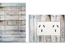Llave de luz Zen Concept Rústica / Kalop, electricidad integral, llave de luz, madera, playa,puertos, caracoles, arena, jean, desgastado, añejo, mar azul, barca, pesquera, islas, islas del Egeo,