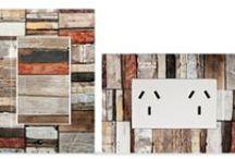 Llave de luz Zen Concept Maderas / llave de luz, Kalop, electricidad integral,maderas, reciclado, añejo, decoración