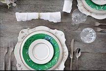 TABLE SETTINGS - APPARECCHIATURE / Dimmi come decori la tavola...e ti dirò chi sei!