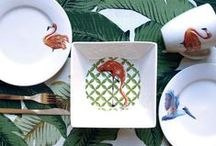 Kitchenware / Kitchen & Dining products that will make you want to change everything you have! Tropical dinner sets, retro cookware and kitchen accessories, boho storage tins, plates, bowls, dishes and more!
