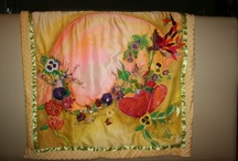SILK ART / Most of the items on here are made by me, but I do add creations by others as well, and I invited Karen Giles to display her wonderful creations too.