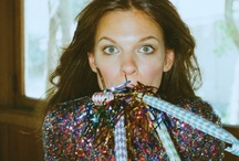 sequins are the way to my heart / I'll wear sequins to the grocery store. / by jillian leeman