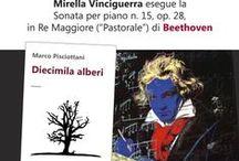 """""""Diecimila alberi"""" tra musica e parole... / Le foto dell'evento del 1 dicembre che si è tenuto alla libreria Altroquando. Ringraziamo Marco Pisciottani e Mirella Vinciguerra!"""