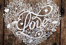 Valentinstag, Hochzeit und Herzen