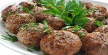 Fleischgerichte mit Hack