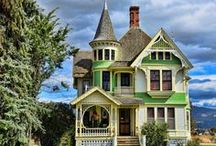 Victorian Houses / This board is devoted to the love of all styles of Victorian homes.  / by Karen Scott