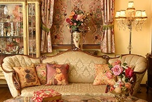 Victorian and Romantic Decor / Home decor and furnishings in the Victorian or romantic style / by Karen Scott