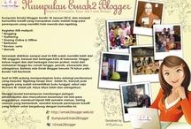 Community - KEB / Grup ini dibuat untuk menjalin persahabatan & memfasilitasi semua perempuan yang suka nulis, ngeblog atau sekedar curhat online di social media, untuk saling memberikan inspirasi, berbagi karya dan ide-ide positif, sehingga bisa menjadikan tulisannya sebuah karya yang bermanfaat.  ~Kumpulan Emak Blogger~ http://emak2blogger.web.id / by Mira Sahid