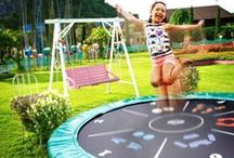 BERG Trampolines / Play outdoors! For every garden there's a suitable trampoline from BERG | Buitenspelen! Voor elke tuin is er een geschikte BERG trampoline