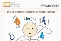 Privacidad en redes sociales / Información de asuntos legales y nuestros derechos en las redes sociales.