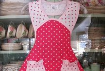 All About Aprons / Aprons of all shapes and designs / by Karen Scott