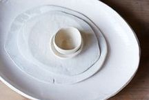 Ceramics - minimal - contemporary - functional / Minimal contemporary functional ceramics for the heart and home