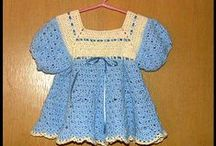 Baby Clothes / Hand-crocheted baby clothes