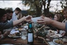 GATHER* / Inspiration for Dinner Parties and Social Gatherings...Be it formal or casual...getting people together with food and fun is a beautiful thing!