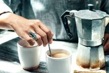 WAKE UP AND SMELL THE COFFEE* / We love coffee :)