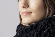 Cuello Doble deCamino FW/14 / Cuello doble de colores, gris o negro. Tejido a mano en España. Descubre más en nuestra tienda online! www.decamino.info