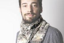 Cuello Piel Oscura deCamino FW/14 / Cuello oscuro de piel sintética con broche en cuero negro y forro interior sintético. Hecho a mano en España. Descubre más en nuestra tienda online! www.decamino.info