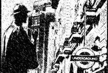 My artworks: Cv:n kansia. Missä on Baker Street 221b / CV: Covers