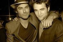Robert Pattinson & Lan Somerhalder