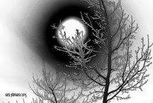My artworks: Total eclipse of the sun