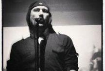 My photography: Laibach at Tavastia / Laibach eilen, messiaanisessa valossa Vlad Dracula. Yes, he is Vlad