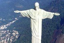 Destination: Brazil / Brazil - wind sand beaches, sexy samba dancers, lush mountains, football, and Cristo Redentor.