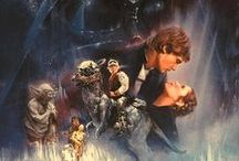 Star Wars / I, too, enjoy the star war with the laser swords and the jesuites and the death vader.