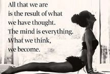 Yoga Motivation / Motivational quotes and Yoga wisdom to keep you going!