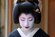 inspiration japon - Coiffure - costume - maquillage